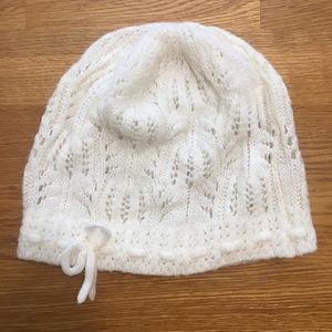 3/$20 H&M Cream Knitted Hat